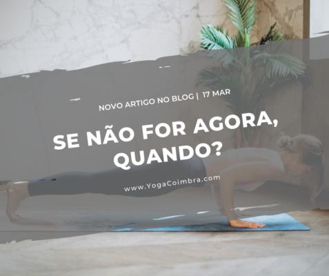 Se não for agora, quando? - Marta e Hugo - www.YogcCoimbra.com